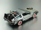 Geleceğe Dönüş Arabası Seri 3 Metal Model Araba Back To The Futur-6