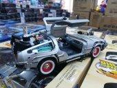 Geleceğe Dönüş Arabası Seri 3 Metal Model Araba Back To The Futur-7