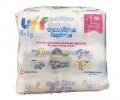 Uni Baby Oyna&öğren Islak Bebek Havlusu 52 Adet 3lü Avantaj Paketi