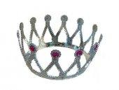 Taşlı Prenses Tacı Gümüş
