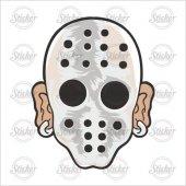 Demir Maske Sticker - 20067