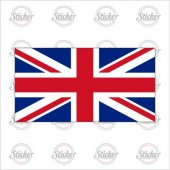 İngiltere Bayrağı Sticker - 18016