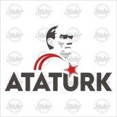 Atatürk Şeffaf Sticker - 11012