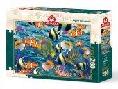 Art Puzzle Çok Balık 260 Parça Puzzle