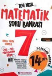 Matematus Yayınları 7. Sınıf Matematik Soru Bankası