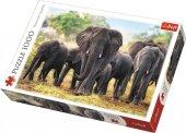 Trefl Puzzle African Elephants 1000 Parça Puzzle