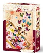 Art Puzzle Bahar Esintisi 500 Parça Puzzle
