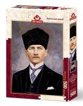 Art Puzzle Cumhurbaşkanı Gazi Mustafa Kemal Atatürk 500 Parça Puz