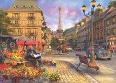 Anatolian 1500 Parça Paris Sokakları Puzzle Paris Street Life