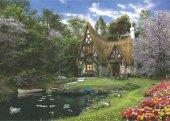 Anatolian 3000 Parça Göl Evi Puzzle Spring Lake Cottage