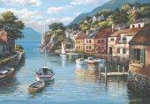 Anatolian 500 Parça Sayfiye Yeri Puzzle Village On The Water