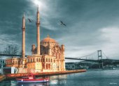Anatolian 1000 Parça Ortaköy Cami Nostalji Puzzle