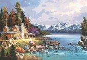 Anatolian 500 Parça Dağ Evi Puzzle Mountain Cabin