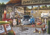 Anatolian 500 Parça Garaj Puzzle Daytons Garage