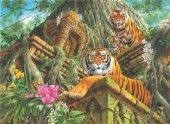 Anatolian 1000 Parça Tapınak Bekçileri Puzzle Temple Tigers