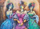 Anatolian 1000 Parça Kadınlar Partisi Puzzle Ladies Party