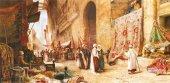 Anatolian 1500 Parça Kahirede Halı Pazarı Puzzle A Carpet Sale