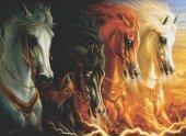 Anatolian 2000 Parça Mahşerin Dört Atı Puzzle The Four Horses O
