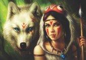 Anatolian 500 Parça Savaşçı Prenses Puzzle Warrior Princess