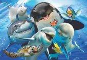 Anatolian 500 Parça Derinlerde Selfie Puzzle Ocean Selfie