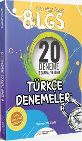 Paragrafın Şifresi 8. Sınıf Lgs Türkçe 5 Sıralı 15 Genel Denemele