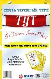 Türev Yayınları Tyt 5 Li Deneme Sınavı