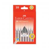 Faber Keçe Uç Kalem 0.4mm 10 Renk