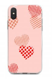 iPhone Xs Max Kılıf Sand Pink Love