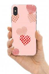 iPhone Xs Max Kılıf Sand Pink Love-3