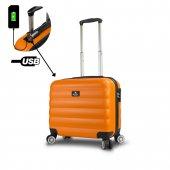 My Valice Smart Bag Colors Usb Şarj Girişli Hostes...