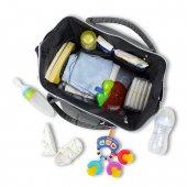 My Valice Smart Bag Happy Mom Usbli Anne Bebek Bakım ve Sırt Çantası Yeşil-4