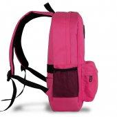 My Valice Smart Bag SPECTA Usb Şarj Girişli Akıllı Sırt Çantası Pembe-4