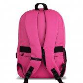 My Valice Smart Bag SPECTA Usb Şarj Girişli Akıllı Sırt Çantası Pembe-5