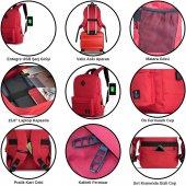 My Valice Smart Bag SPECTA Usb Şarj Girişli Akıllı Sırt Çantası Pembe-6