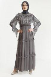 Sitare Hennin Elbise 3823-2