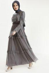 Sitare Hennin Elbise 3823-4