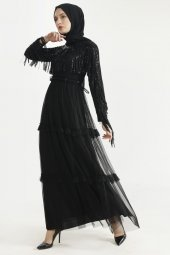 Sitare Hennin Elbise 3823-5