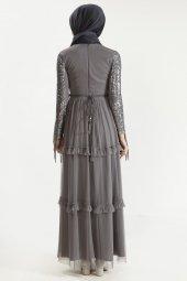 Sitare Hennin Elbise 3823-8
