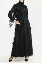 Sitare Hennin Elbise 3823-9