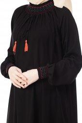 şahsenem Elbise De 3027 01 Siyah
