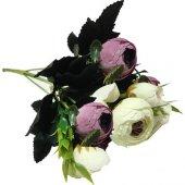çiçek El Buketi Şakayık Modeli Lila P1 240 Ar1521