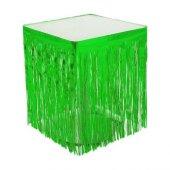 Masa Kenarı Eteği Ve Fonsüsü Metalize Yeşil P1 100