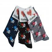 9lu Paket Kadın Soket Çorap Kadın Pamuklu Çorap...