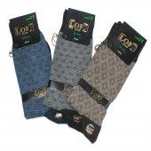 3lü Paket Lof Bamboo Erkek Çorap