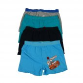Koza Erkek Çocuk Renkli Desenli Boxer 3 Lü...