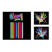 Toptancı Kapında Glow Stick 20cm Fosforlu Kırılan Çubuk (100 Adet