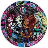 8 Li Monster High Doğum Günü Monstır Tabak 8 Li Monsterhayg Tabak