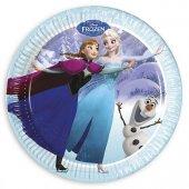 8 Li Frozen Doğum Günü Elsa Tabak 8 Li Anna Elsa Tabak
