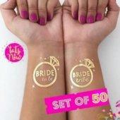 Gold Altın Bride To Be Dövme Bride Tribe Tattoo