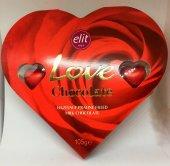 Sevgililer Günü Elit Kalp Çikolata 10 Adet 17x19 Cm